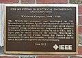 Whirlwind Computer plaque - IEEE Milestone - MIT, Cambridge, Massachusetts - 20171202 141142.jpg