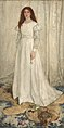 Whistler James Symphony in White no 1 (The White Girl) 1862.jpg