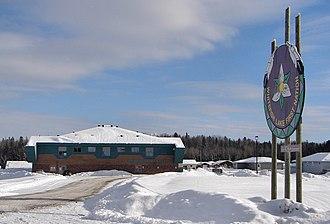 Atikameksheng Anishnawbek First Nation - Whitefish Lake community centre