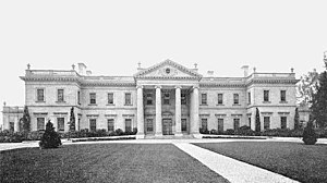 Wyndmoor, Pennsylvania - Whitemarsh Hall (Edward T. Stotesbury mansion), (built 1916–21, demolished 1980)