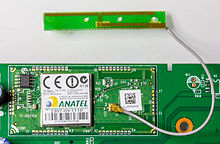 220px Wi Fi network card by Askey Computers with Wi Fi Antenna by Amphenol 9714