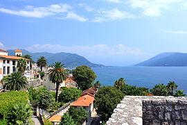 Widoki z twierdzy Forte Mare na Herceg Novi 03
