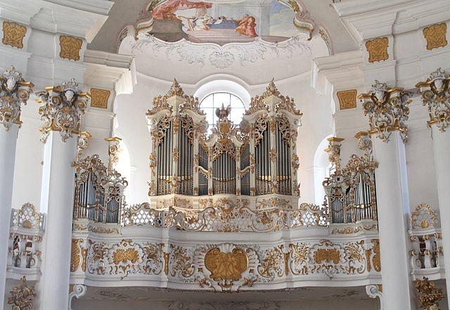 Orgue et bandes dessinées - Page 2 640px-Wieskirche_Orgel