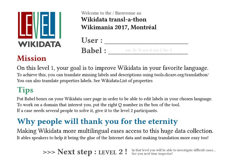 Bestand:Wikidata translathon worshop 2017 Level 1 instructions.pdf