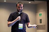 Wikimania 2015 - Joe Sutherland 22.jpg
