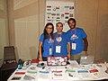 Wikimedia España booth at wikimania 2017 (1).jpg