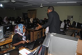 Wikipedia 27 at Fountain University Osun state Nigeria.jpg