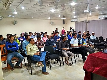 Wikipedia Workshop, Rajshahi University, November 2018 (27).jpg
