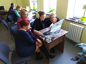 Wikitraining for librarians in Vinnytsia 23-03-2019 (18).jpg
