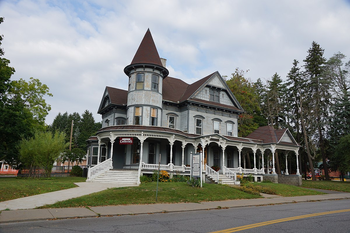 Oneonta new york travel guide at wikivoyage for Modern house new york