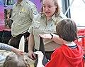 Wildlife Inspector explaining rhino horn (5654674821).jpg