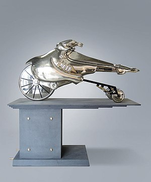 Nickel silver - Willem Lenssinck, Formula 1 Racing Horse