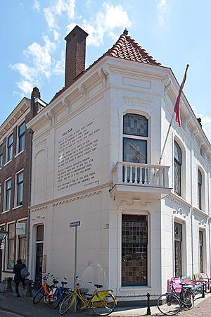Wall poems in Leiden - Image: William Shakespeare Sonnet XXX Leiden Wall Poem