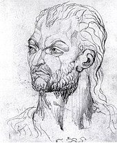 A sketch of Owain Glyndŵr as he appeared to William Blake