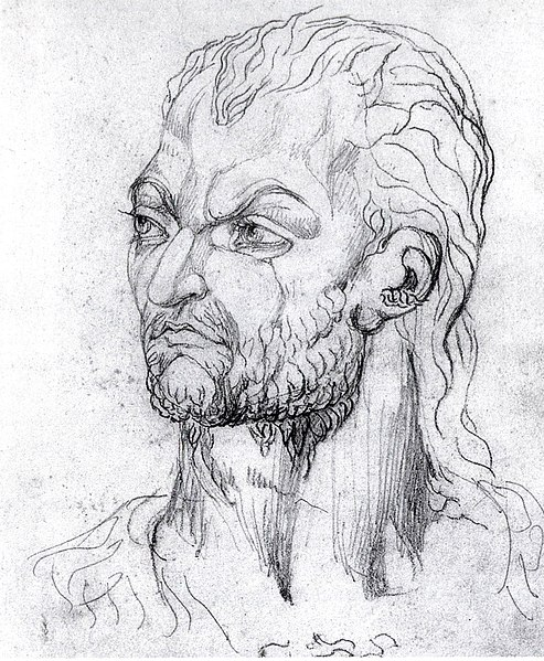 File:William Blake, Visionary Head of Owen Glendower, 1819.jpg