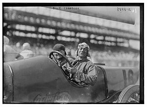 William Chandler (racing driver) - William Chandler on May 13, 1916 at the Sheepshead Bay Speedway