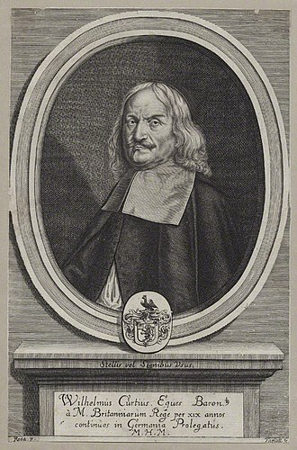 Curtius baronets - Image: William Curtius National Portrait Gallery mw 140525