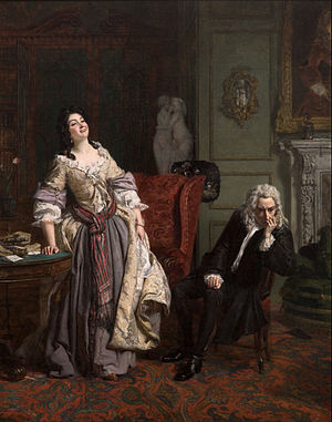 William Powell Frith - Pope Makes Love To Lady Mary Wortley Montagu (1852)