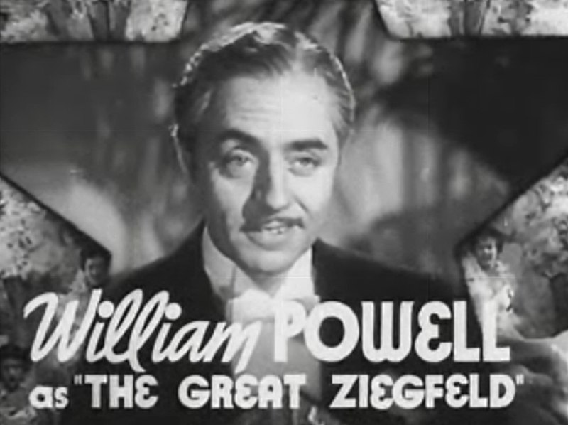 Archivo:William Powell in The Great Ziegfeld trailer.jpg