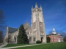 Williams College - Thompson Memorial Chapel exterior view.JPG