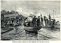 Willy Stöwer - Überwachungsdienst zur Verhütung der Choleragefahr auf dem Spandauer Schiffahrtskanal, 1905.jpg
