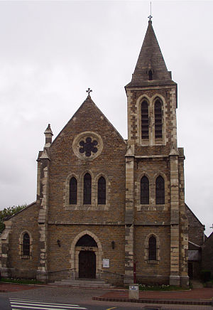 Wimereux - Image: Wimereux church (front)