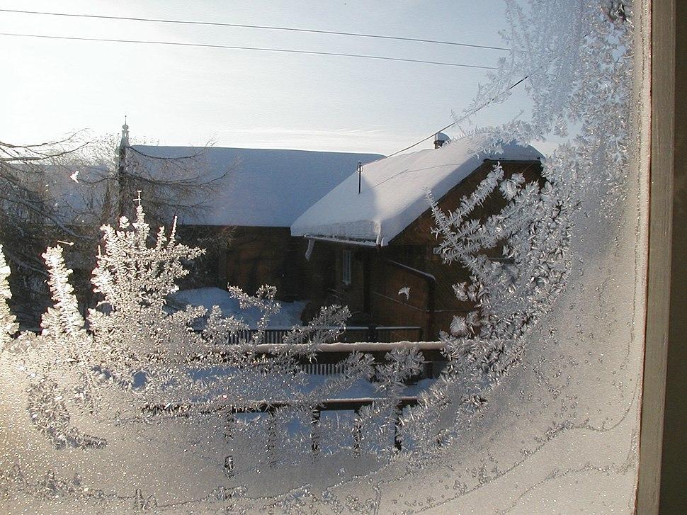 Window-frost