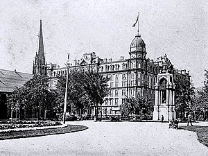 L'Hôtel Windsor en 1902.