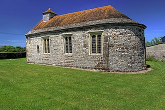 Winterborne Tomson - Exterior view of St Andrew's Church at Winterborne Tomson.