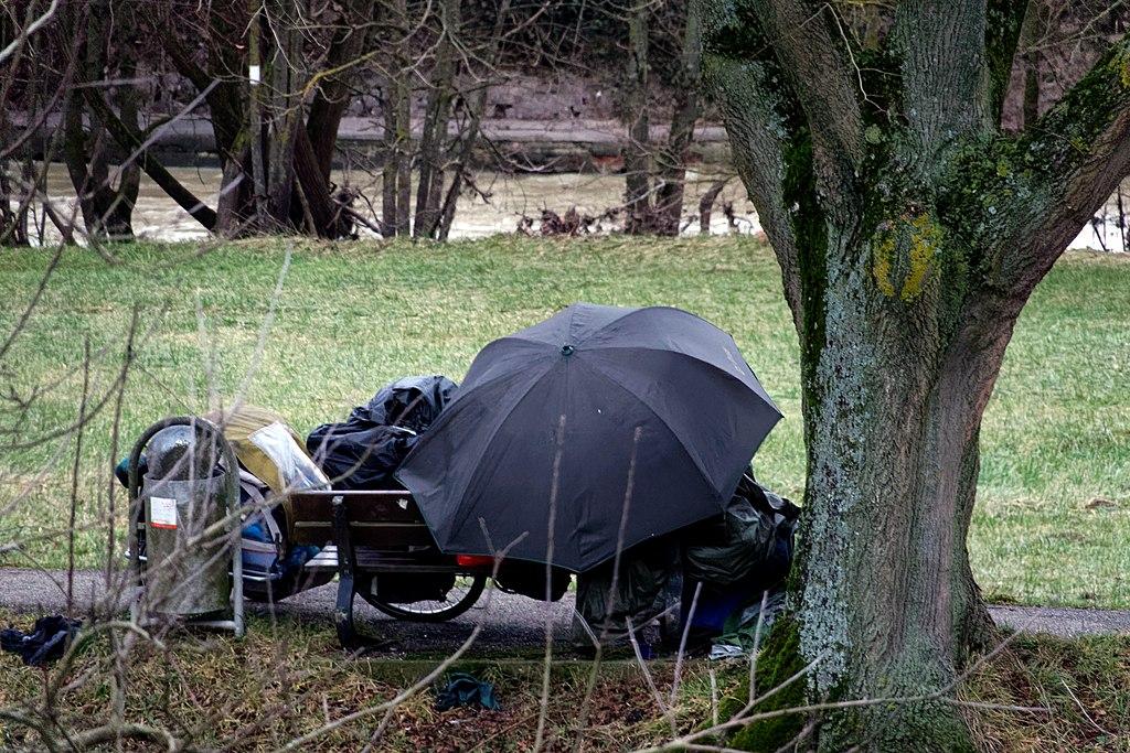 Winterlager eines Obdachlosen. 01.jpg