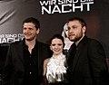 Wir sind die Nacht (Österreichpremiere 2010.10.27) Dennis Gansel, Jennifer Ulrich, Max Riemelt.jpg