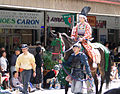 Woman on horse in 2006 Aizu parade.JPG