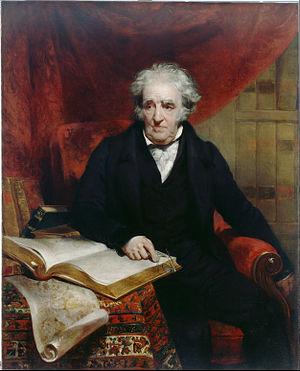 Thomas Stothard - Portrait of Thomas Stothard by John Wood (1833)