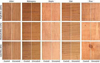 Wood finishing - Image: Wood stains