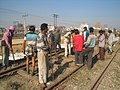 Workforce, Indian Railways Track Maintenance in Punjab.jpg