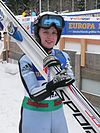 World Junior Ski Championship 2010 Hinterzarten Lucie Mikova 1061.JPG