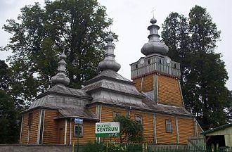 Wysowa-Zdrój - Western Lemko church, built in 1779