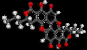 Xylindein - Image: Xylindein 3D