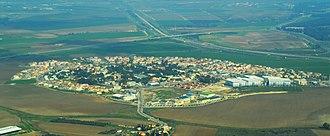 Yad Binyamin - Image: Yad Binyamin Aerial View