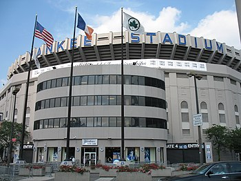 English: Yankee stadium. The Bronx, New York. ...