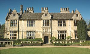Yarnton - Yarnton Manor, built in 1611 for Sir Thomas Spencer, now the Oxford Centre for Hebrew and Jewish Studies