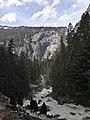Yosemite Nationalpark John Muir Vernal Falls Trailhead IMG 20180411 120702.jpg