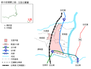 Yuli location map (Traditional Chinese).png