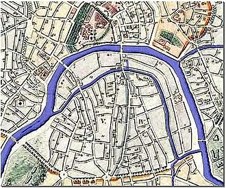 Vodootvodny Canal - Image: ZAM 1824 Rebuild Plan Blue