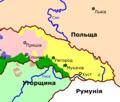 Zakarpattja 1930 linguistic map.png