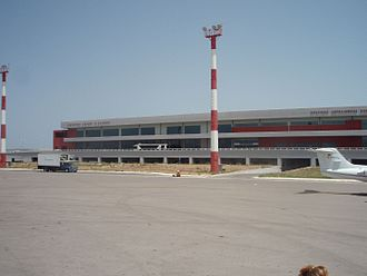 Zakynthos International Airport - Image: Zakynthos Airport, New Terminal, Greece 02
