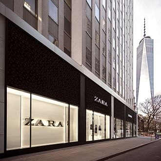 Zara (retailer) - Zara store in New York City.