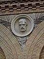 Zaragoza - Antigua Facultad de Medicina - Medallón - Euclides.jpg