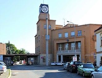 Zbrojovka Brno - Zbrojovka Brno headquarters and gateway