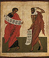 Zechariah and Bileam (17th-century, Russia).jpg